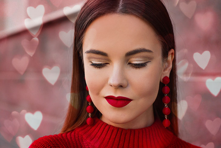 Makeup Ideas for Valentine's Day 2021
